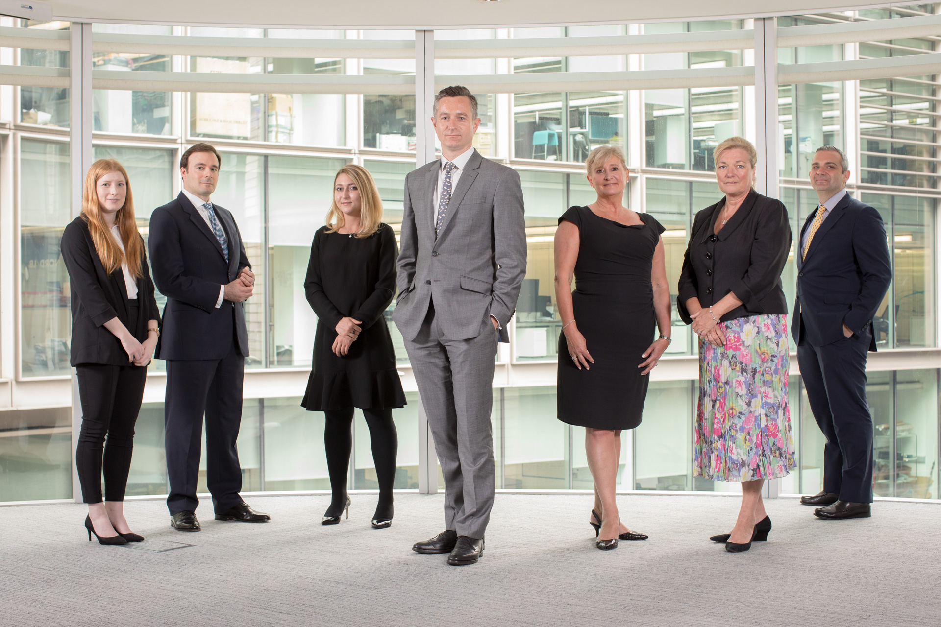 Business group photography London