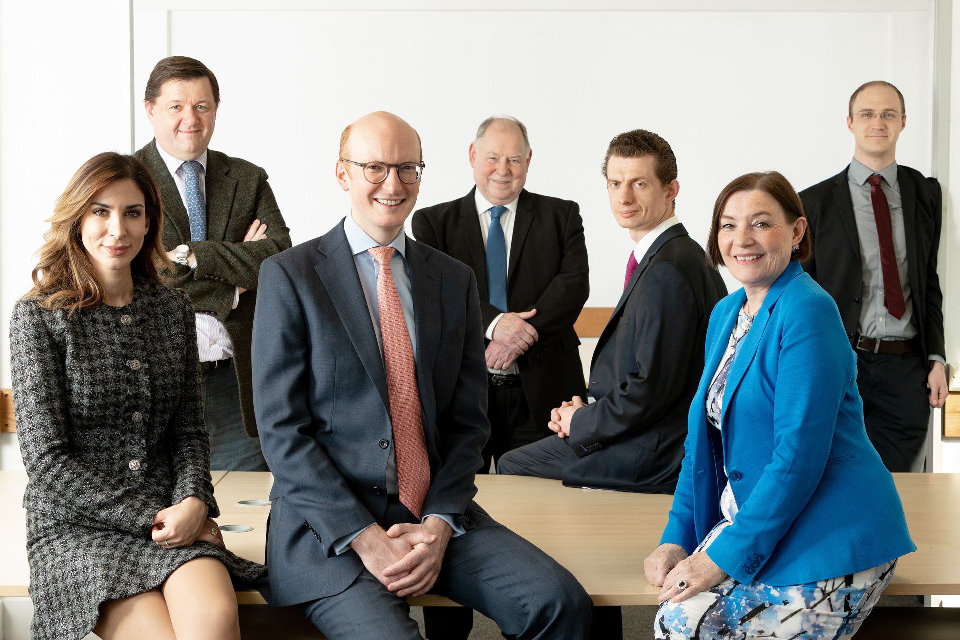 Corporate group photography London