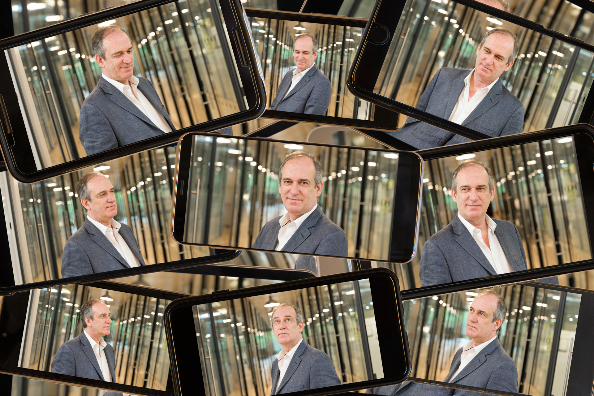 London financial PR photography